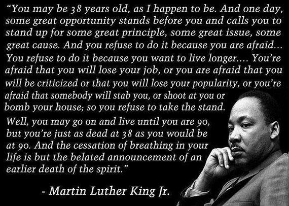 Elderly Senior Corner king-at-38 Martin Luther King, Jr: Quotes Beyond the Dream
