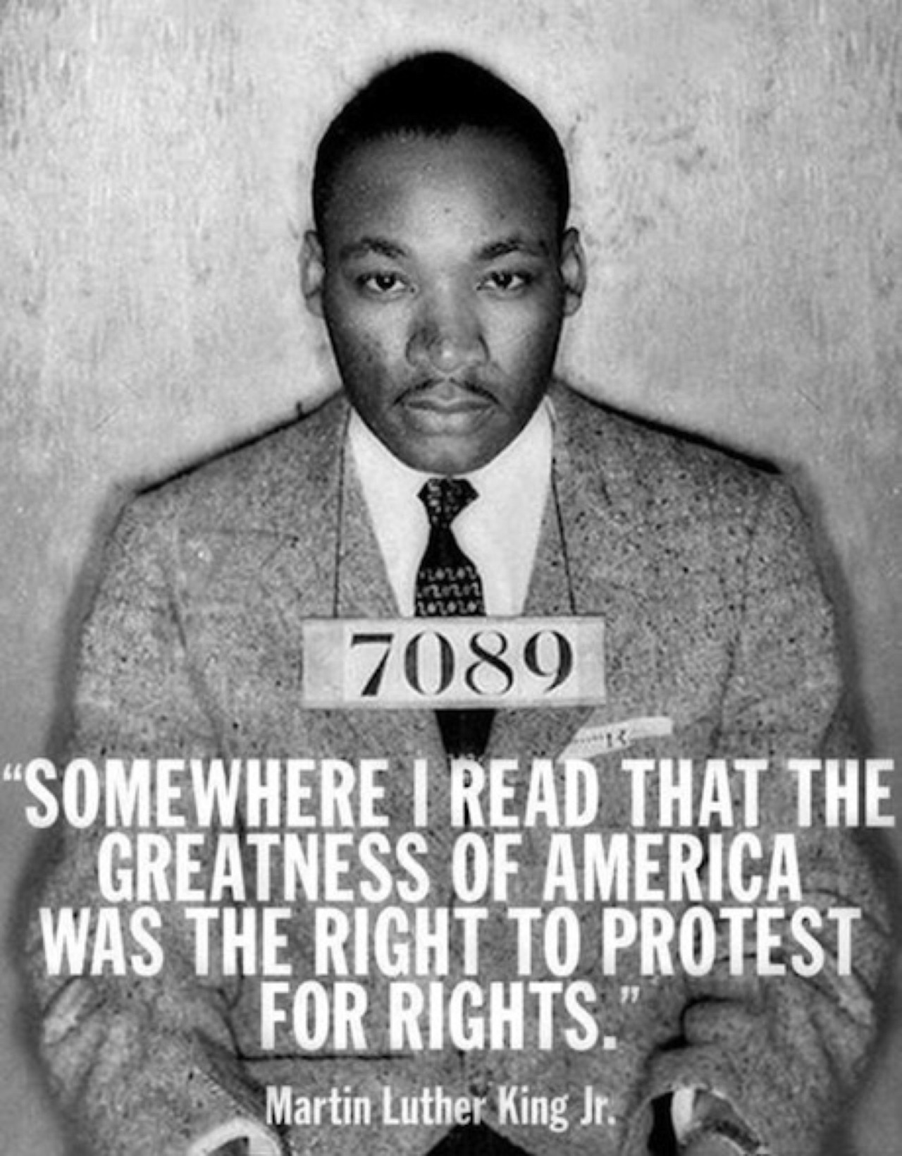 king on protest quote
