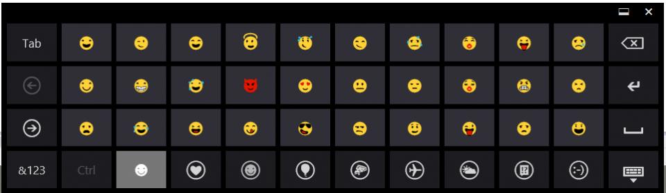 emoji keyboard image